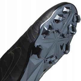 Buty piłkarskie Nike Phantom Venom Elite Tc Fg CJ6319 001 czarne czarne 6