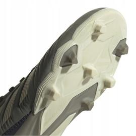 Buty piłkarskie adidas Predator 19.3 Fg Jr EF8215 szare 5