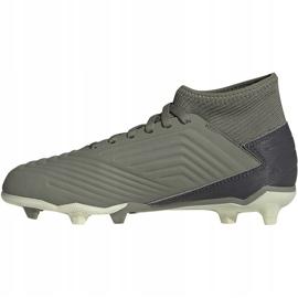 Buty piłkarskie adidas Predator 19.3 Fg Jr EF8215 szare 2