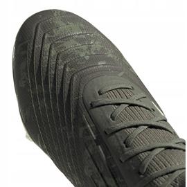 Buty piłkarskie adidas Predator 19.1 Fg EF8205 szare szare 3