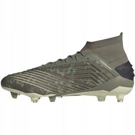 Buty piłkarskie adidas Predator 19.1 Fg EF8205 szare szare 2