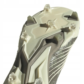 Buty piłkarskie adidas Predator 19.1 Fg EF8205 szare szare 5