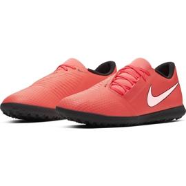 Buty piłkarskie Nike Phantom Venom Club Tf AO0579 810 pomarańczowe biały, pomarańczowy(łososiowy) 3