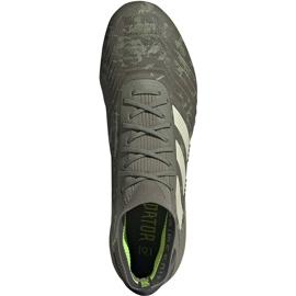 Buty piłkarskie adidas Predator 19.1 Fg EF8205 szare szare 1