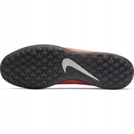 Buty piłkarskie Nike Phantom Venom Club Tf AO0579 810 pomarańczowe biały, pomarańczowy(łososiowy) 5