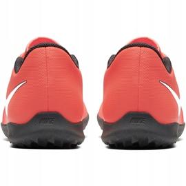 Buty piłkarskie Nike Phantom Venom Club Tf AO0579 810 pomarańczowe biały, pomarańczowy(łososiowy) 4