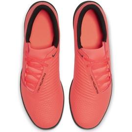 Buty piłkarskie Nike Phantom Venom Club Tf AO0579 810 pomarańczowe biały, pomarańczowy(łososiowy) 1