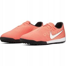 Buty piłkarskie Nike Phantom Venom Academy Tf AO0571 810 pomarańczowe niebieskie 1