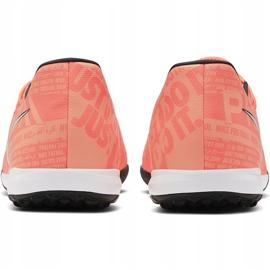 Buty piłkarskie Nike Phantom Venom Academy Tf AO0571 810 pomarańczowe niebieskie 2