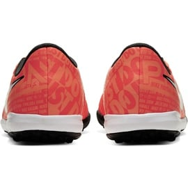 Buty piłkarskie Nike Phantom Venom Academy Tf Junior AO0377 810 pomarańczowe pomarańczowe 4