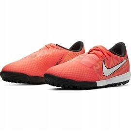 Buty piłkarskie Nike Phantom Venom Academy Tf Junior AO0377 810 pomarańczowe pomarańczowe 3