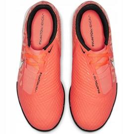 Buty piłkarskie Nike Phantom Venom Academy Tf Junior AO0377 810 pomarańczowe pomarańczowe 1