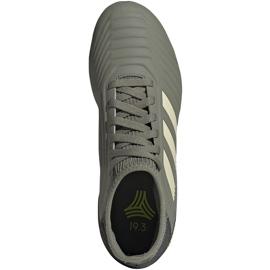 Buty piłkarskie adidas Predator 19.3 Tf Jr EF8220 zielone wielokolorowe 1