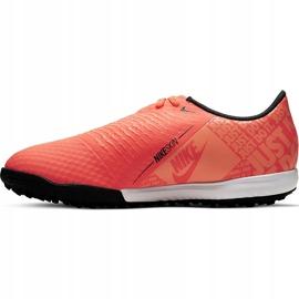 Buty piłkarskie Nike Phantom Venom Academy Tf Junior AO0377 810 pomarańczowe pomarańczowe 2