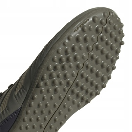 Buty piłkarskie adidas Predator 19.3 Tf Jr EF8220 zielone wielokolorowe 5