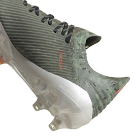 Buty piłkarskie adidas X 19.1 Fg zielone EF8296 4