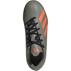 Buty piłkarskie adidas X 19.4 Tf Jr zielone EF8378 1