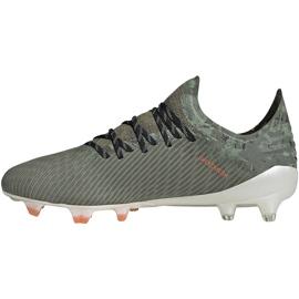 Buty piłkarskie adidas X 19.1 Fg zielone EF8296 2
