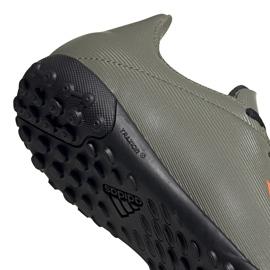 Buty piłkarskie adidas X 19.4 Tf Jr zielone EF8378 4