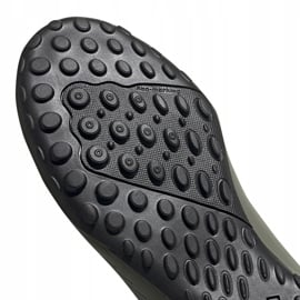Buty piłkarskie adidas X 19.4 Tf zielone EF8370 szare 5