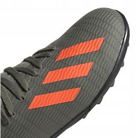 Buty piłkarskie adidas X 19.3 Tf Jr zielone EF8375 3