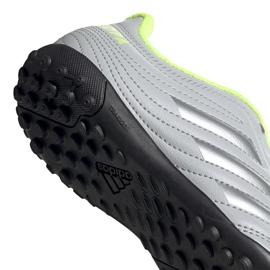 Buty piłkarskie adidas Copa 20.4 Tf Jr EF8359 szare szare 4