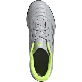 Buty piłkarskie adidas Copa 20.4 Tf Jr EF8359 szare szare 1