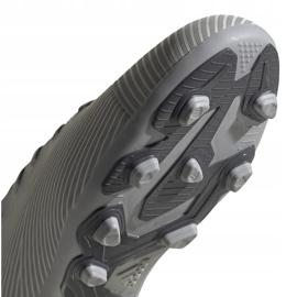 Buty piłkarskie adidas Nemeziz 19.4 FxG Jr szare EF8305 wielokolorowe 5