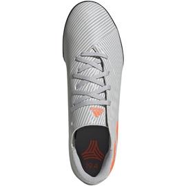 Buty piłkarskie adidas Nemeziz 19.4 Tf szare EF8294 wielokolorowe 1