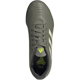 Buty piłkarskie adidas Predator 19.4 Tf Jr EF8222 zielone wielokolorowe 1
