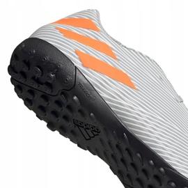 Buty piłkarskie adidas Nemeziz 19.4 Tf szare EF8294 wielokolorowe 4