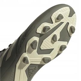 Buty piłkarskie adidas Predator 19.4 FxG Jr EF8221 wielokolorowe szare 5