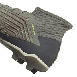 Buty piłkarskie adidas Predator 19.2 Fg EF8207 zielone wielokolorowe 4