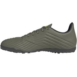 Buty piłkarskie adidas Predator 19.4 Tf EF8212 zielone zielone 2