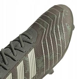 Buty piłkarskie adidas Predator 19.2 Fg EF8207 zielone wielokolorowe 3