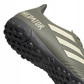 Buty piłkarskie adidas Predator 19.4 Tf EF8212 zielone zielone 4