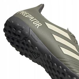 Buty piłkarskie adidas Predator 19.4 Tf EF8212 zielone zielone 5