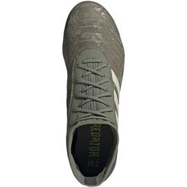 Buty piłkarskie adidas Predator 19.2 Fg EF8207 zielone wielokolorowe 1