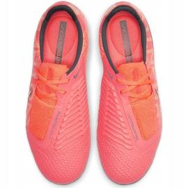 Buty piłkarskie Nike Phantom Venom Elite Fg Junior AO0401 810 pomarańczowe wielokolorowe 1
