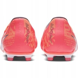 Buty piłkarskie Nike Phantom Venom Elite Fg Junior AO0401 810 pomarańczowe wielokolorowe 4