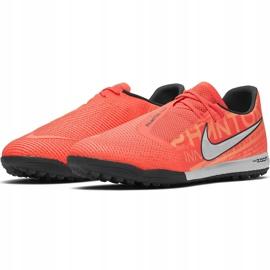 Buty piłkarskie Nike Zoom Phantom Venom Pro Tf BQ7497 810 różowe pomarańczowe 3