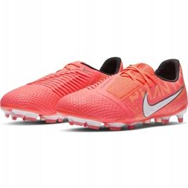 Buty piłkarskie Nike Phantom Venom Elite Fg Junior AO0401 810 pomarańczowe wielokolorowe 3