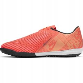 Buty piłkarskie Nike Zoom Phantom Venom Pro Tf BQ7497 810 różowe pomarańczowe 2
