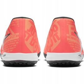Buty piłkarskie Nike Zoom Phantom Venom Pro Tf BQ7497 810 różowe pomarańczowe 4