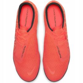 Buty piłkarskie Nike Zoom Phantom Venom Pro Tf BQ7497 810 różowe pomarańczowe 1