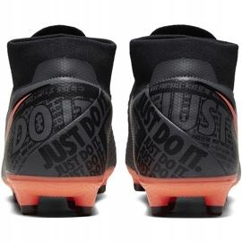 Buty piłkarskie Nike Phantom Vsn Academy Df FG/MG AO3258 080 szary, różowy szare 4