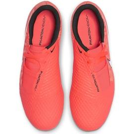 Buty piłkarskie Nike Phantom Venom Academy Fg Jr AO0362 810 pomarańczowe pomarańczowe 1