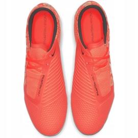 Buty piłkarskie Nike Phantom Venom Pro Fg AO8738 810 pomarańczowe granatowe 1
