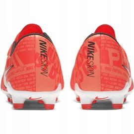 Buty piłkarskie Nike Phantom Venom Pro Fg AO8738 810 pomarańczowe granatowe 4