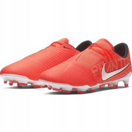 Buty piłkarskie Nike Phantom Venom Pro Fg AO8738 810 pomarańczowe granatowe 3